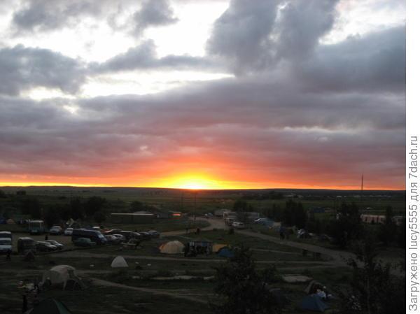Аркаимский закат