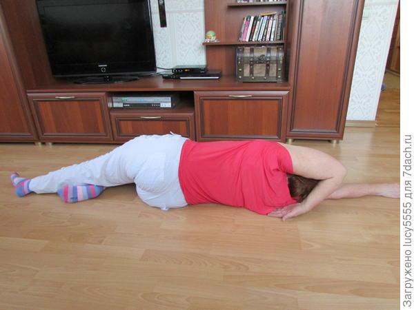 прекрасное упражнение (для прекращения головных болей тоже)