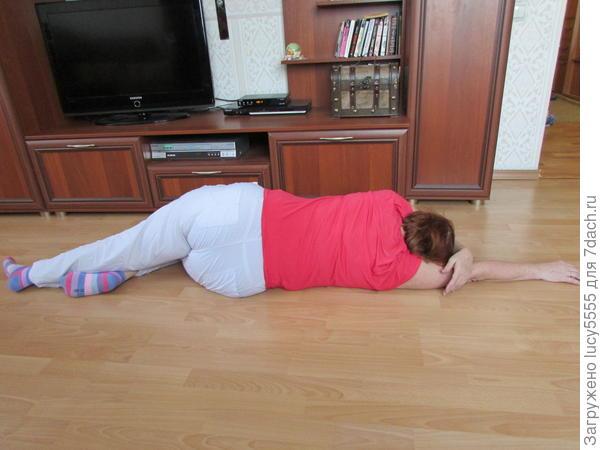 расслабление после выполнения упражнения