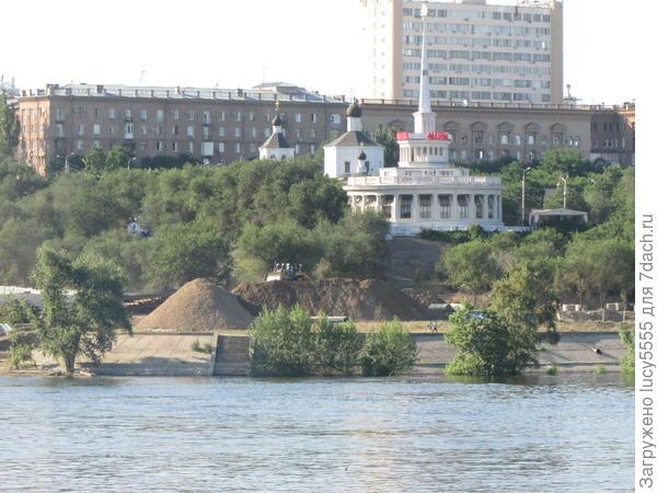 Прогулка по Волгограду закончена