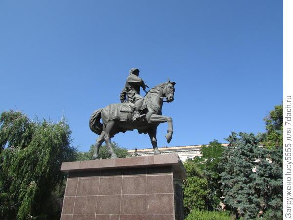 Первый воевода Царицына князь Засекин