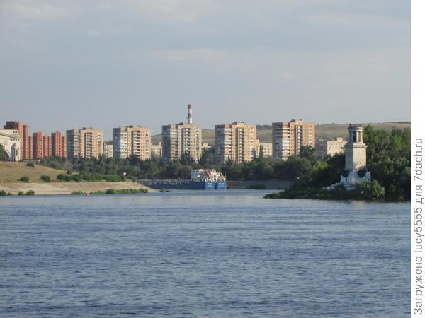 Волго-Донской канал начинается здесь