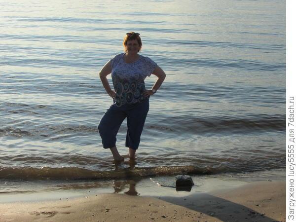 Ура!!! Я в воде Волги!