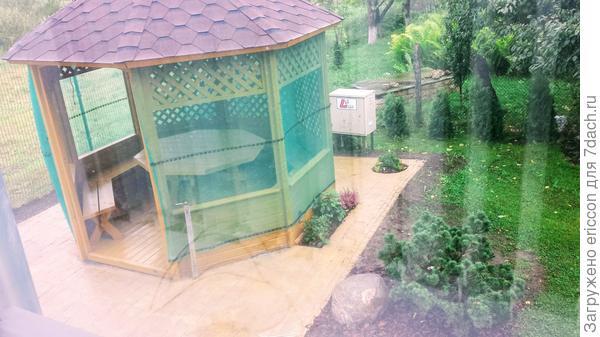Вид с окна дома