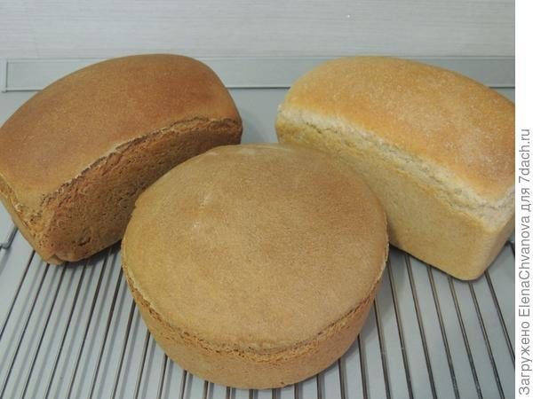 Хлеб 3 вида
