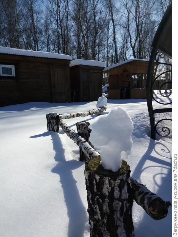 еще одна снежная шапочка