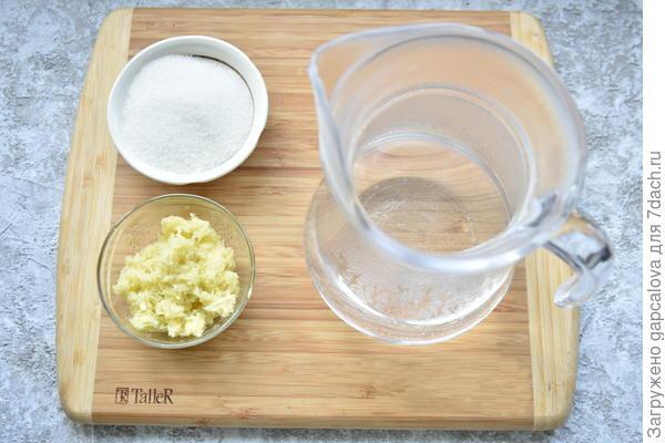 Имбирный эль. Пошаговый рецепт с фото