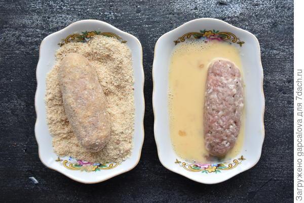 Котлеты по-донбасски - из домашнего фарша, жаренные во фритюре. Пошаговый рецепт и фото