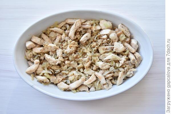 Жюльен с курицей и грибами - пошаговый рецепт приготовления с фото