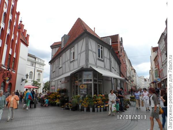цветочный магазин, Германия,Висмар