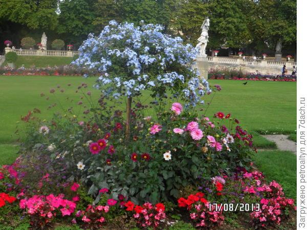 Люксембургский парк, Париж