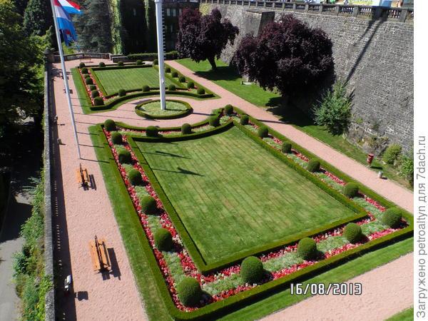 газон в Люксембурге