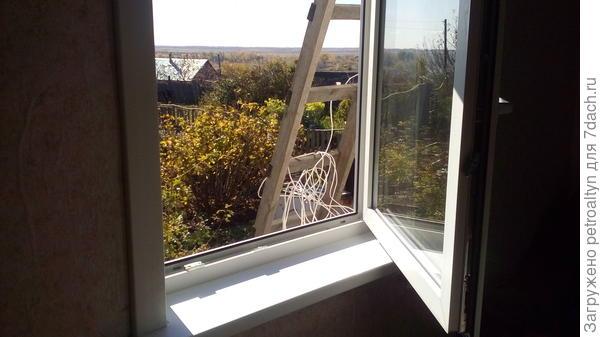поставили два новых окна в комнате