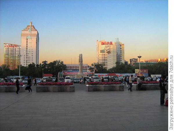 гостиница видна от вокзала