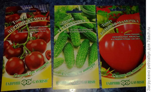 томаты и огурцы