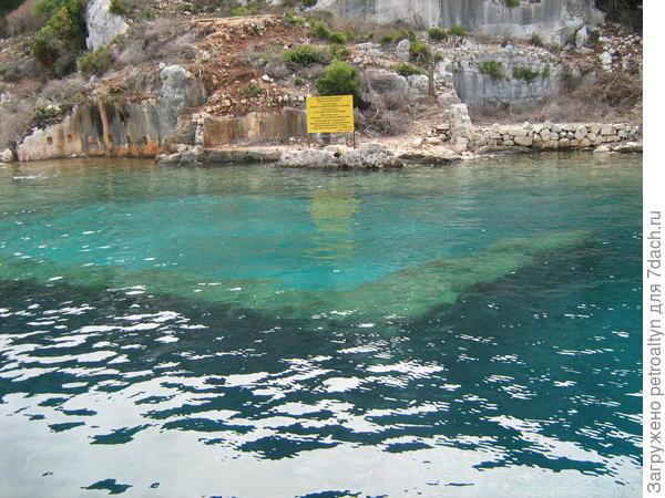 история древнего мира под водой