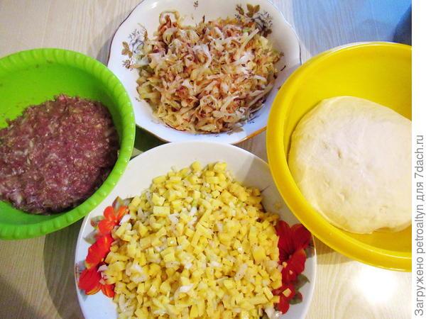 Манты по маминому рецепту - на дрожжевом тесте с разными начинками - пошаговый рецепт приготовления с фото