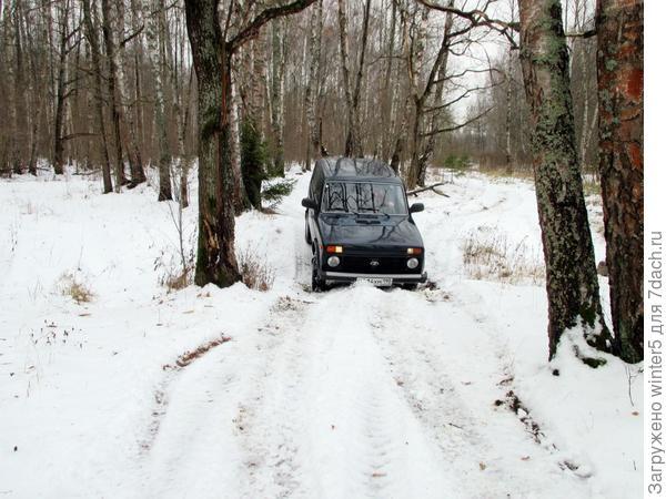 Выбирай: 3 км через лес и ты в Новой Москве или делай крюк.
