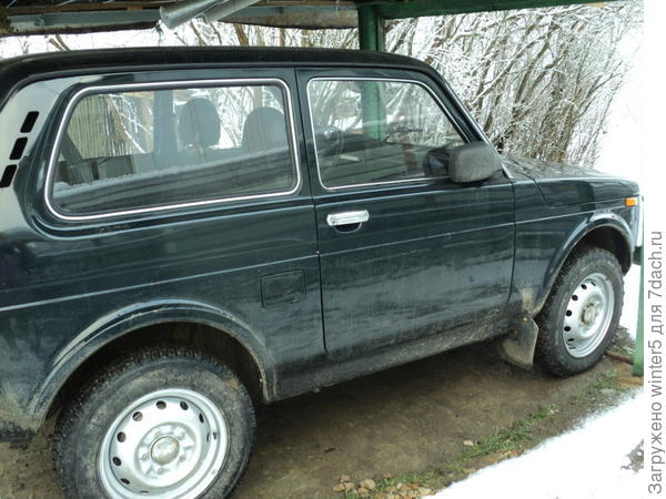 Под навесом  автомобиль хорошо проветривается, не покрывается инеем.