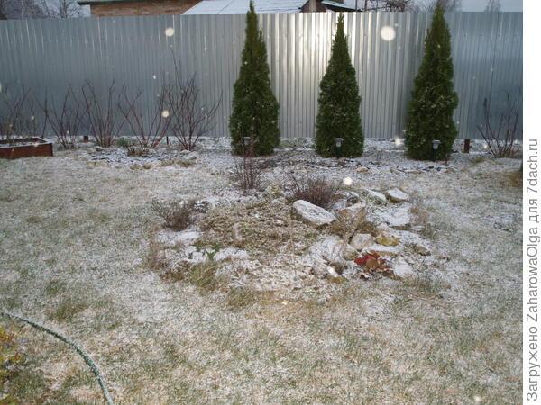 Падает снежок