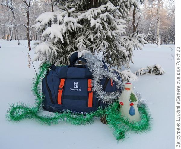 Спортивная сумка - приз за победу в фотоконкурсе