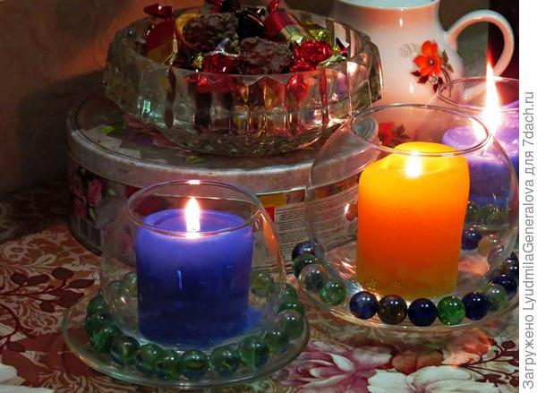 Свечи для уюта