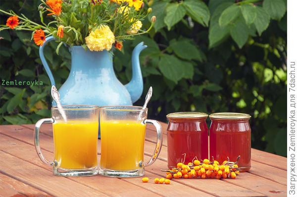 Сладкий, витаминный напиток