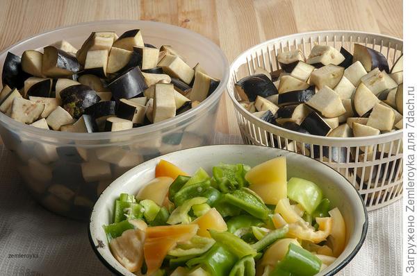 Баклажаны; Волгоградские; на зиму - пошаговый рецепт приготовления с фото