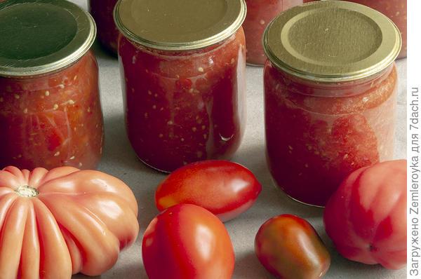Быстрая заготовка томатов на зиму. Рецепт