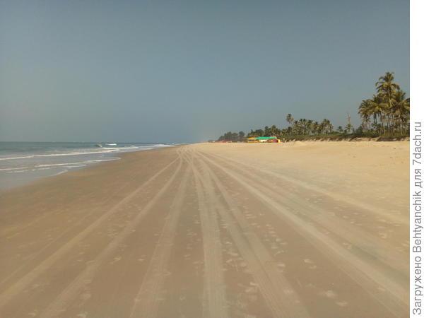 Пустынные пляжи ГОА