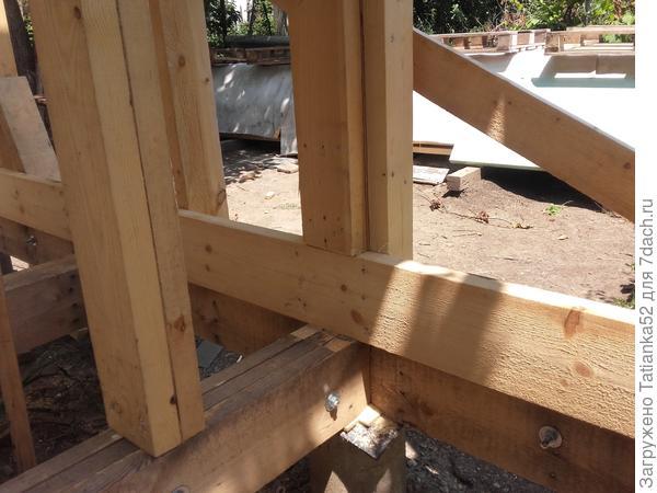 Строим домик у Березы
