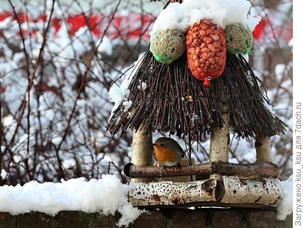 Кормушка-домик. Фото с сайта fast-images.ru