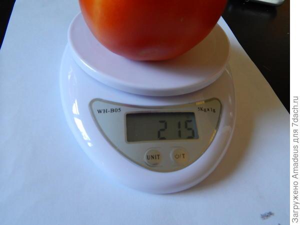 весом 215 грамм