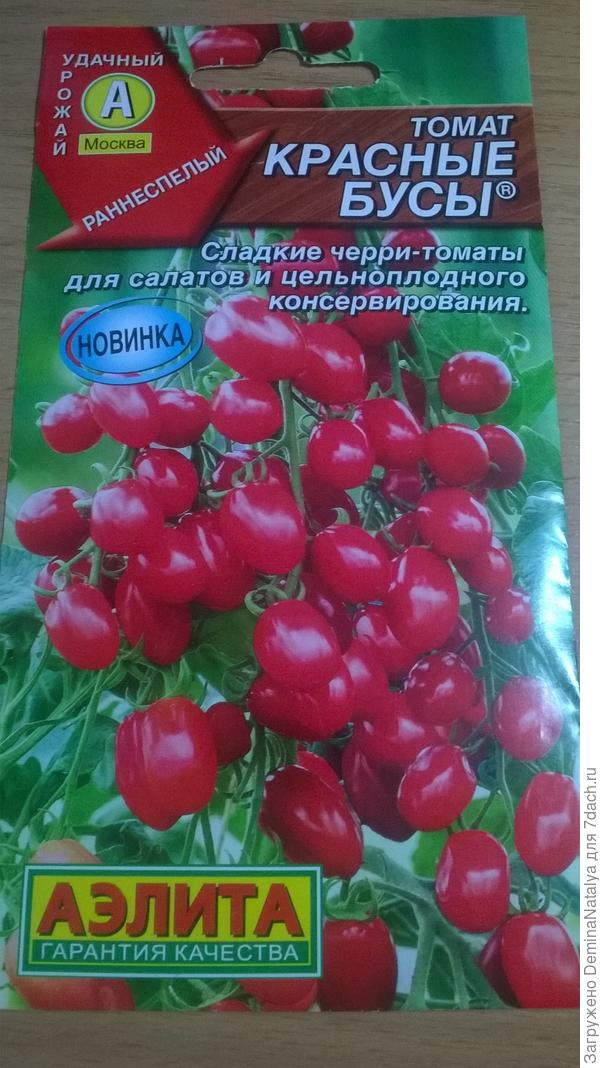 Томат Красные бусы