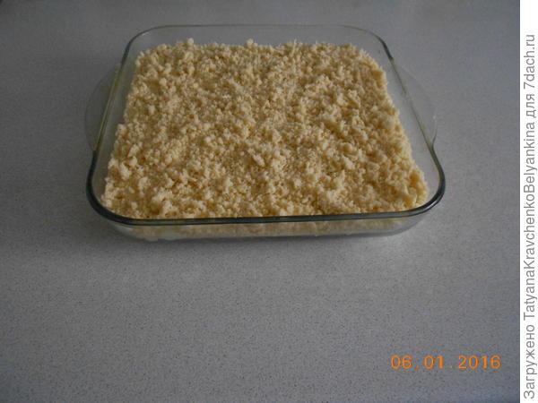 6 шаг пирог готов к выпечки.
