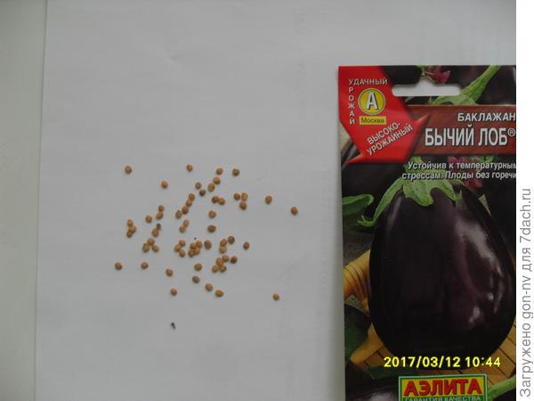 В пакетике насчитала 63 штуки семян. Высаживаю 20 семян.