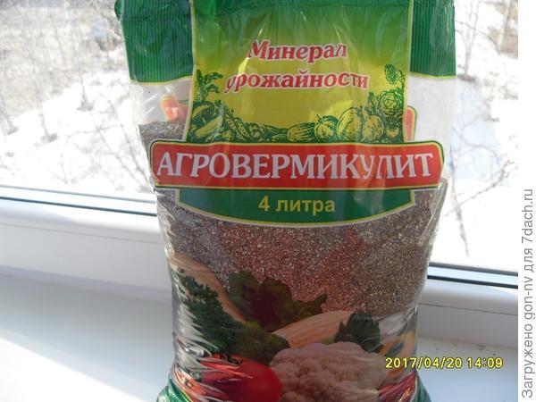 20.04 в горшочки с рассадой добавлен вермикулит.