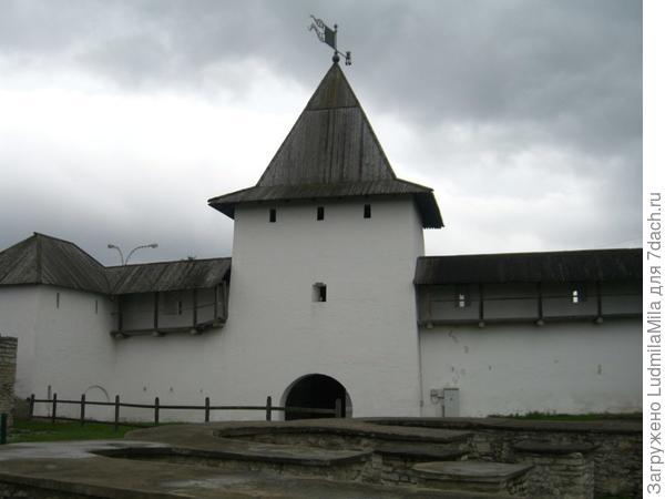 Рыбницкая башня.