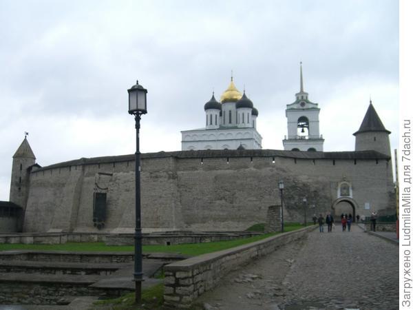 Псковский кремль.