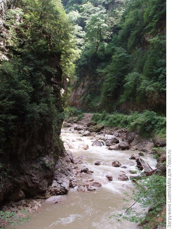 река Курджипс.