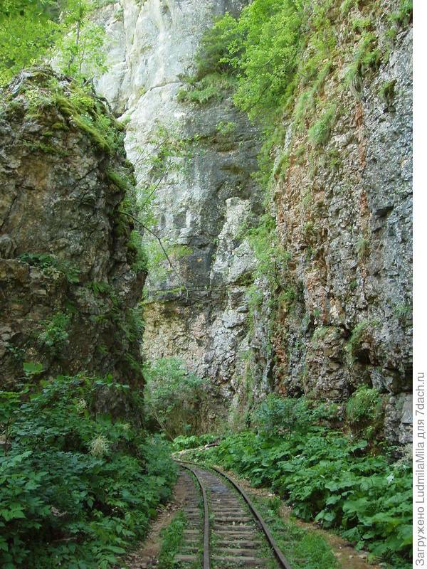 Остатки Апшеронской железной дороги.