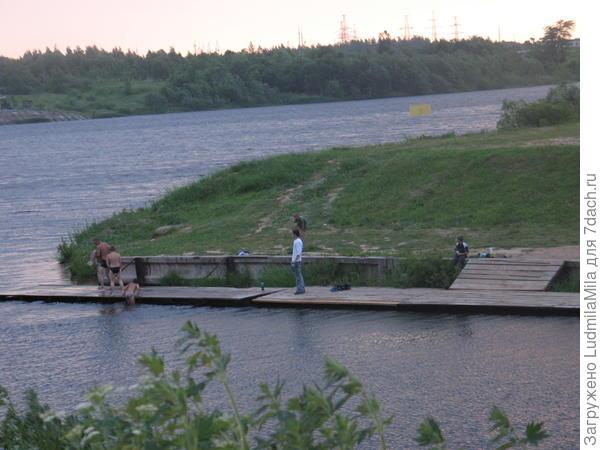 Озеро д.Дедовичи Псковская область.