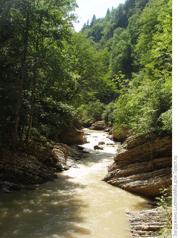 Река на территории Адыгеи.