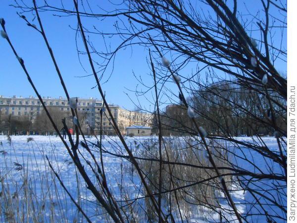 На улице -18*С.На земле снег...