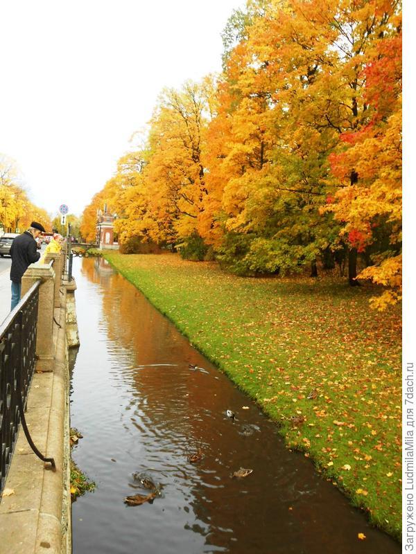 Канал возле комплекса
