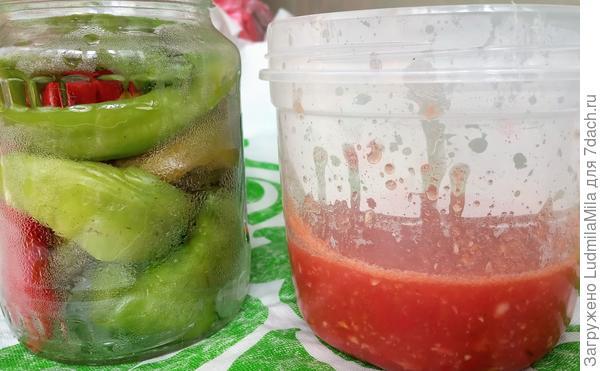 Горький перец в аджике - пошаговый рецепт приготовления с фото