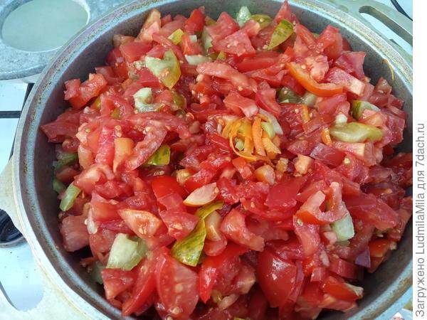 Икра из баклажанов с яблоками на зиму - пошаговый рецепт приготовления с фото