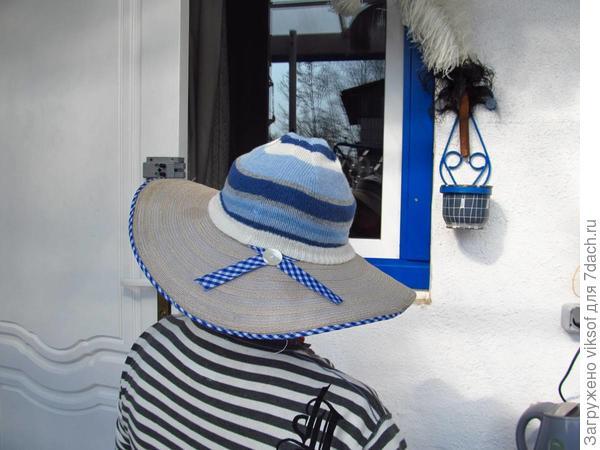 шляпка для холодных дней