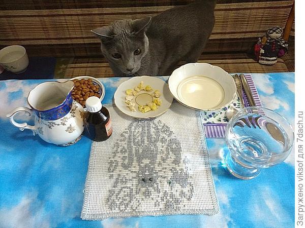 Витас за праздничным столом