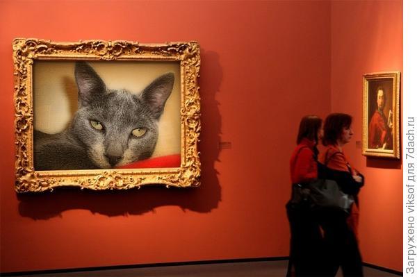 (Портрет Витаса тоже уже в зале музея находится)